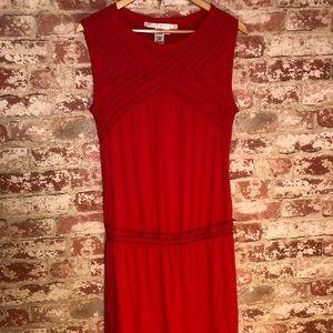 NWOT Max Studio red knit dress 0021